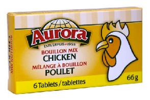 Chicken Bouillon Cube (66 gr) - AURORA