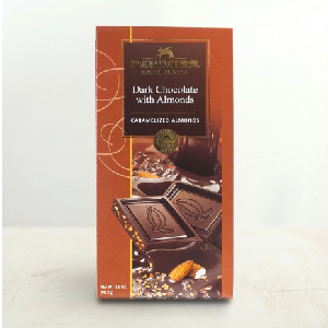 Dark Chocolate & Almond Bar  (99 g) - PERUGINA