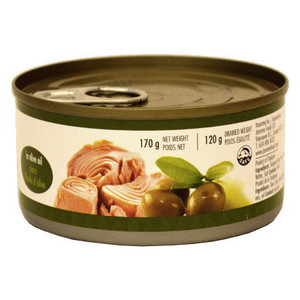 Easy open Tuna Fish in Olive Oil 170g - Jasmine
