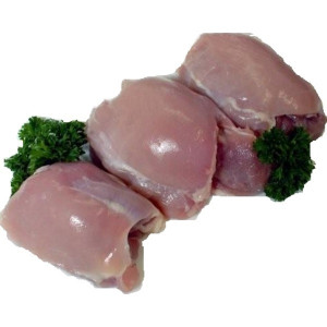 Halal Boneless Skinless Chicken Thighs 1 kg