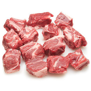 Halal Lamb Stew with bone 1 Kg