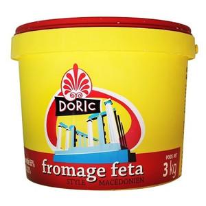 Macedonian Feta Cheese 3kg - Doric