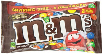 Milk Chocolate Candies 75gr - m&m
