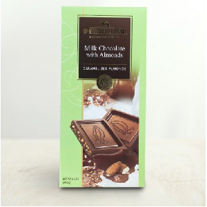 Milk Chocolate with Almonds Bar 99 g-PERUGINA