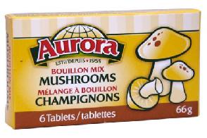 Mushroom Bouillon Cube 66gr - AURORA
