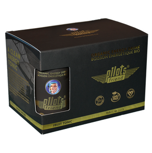 Organic Fruit Tonic 6X150 ml - PilotsFriend