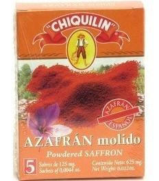Powdered Saffron-5 Sachets of 125 mg