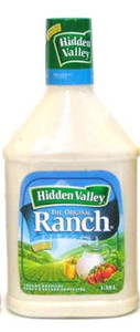 Ranch Dressing Original 1.18L - Hidden Valley