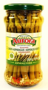 Seasoned Green Asparagus 9.9 OZ - AURORA