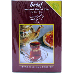 Special Blend Tea with Earl Grey 16 oz. (450 gr) - Sadaf