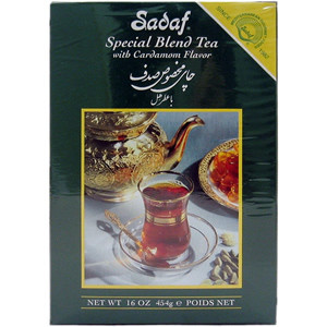 Special Blend Tea with Cardamom Flavor Loose 16 oz. (450 gr) - Sadaf