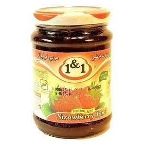 Strawberry Jam 350g - 1&1