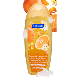 Sweet Honeysuckle & Orange Peel Body Wash 532 ml - Softsoap