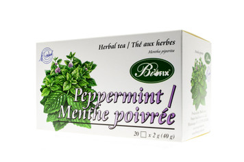Tea Peppermint 20 sachets - BIOFIX