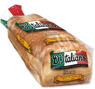 Thick Slice Original White Bread (675 g) - d'Italiano