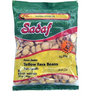 Yellow Fava Beans - Baghala 12 oz. - Sadaf