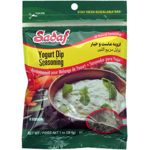 Yogurt Dip Seasoning Mix 1 oz.- Sadaf
