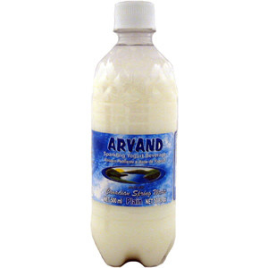 Yogurt Soda 4 Pack - Plain 500 ml - Arvand