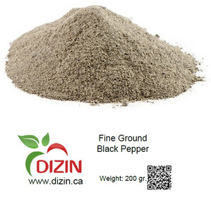 Fine Ground Black Pepper 200 gr