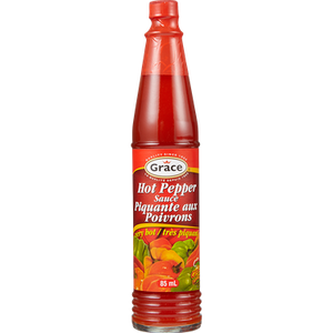 Hot Pepper Sauce, Small (85mL) - GRACE