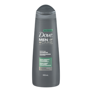 Men+Care Aqua Impact Shampoo (355mL) - DOVE