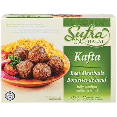 Halal Meat Balls (454g) - SUFRA HALAL