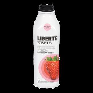 Kefir, Strawberry (1L) - LIBERTE