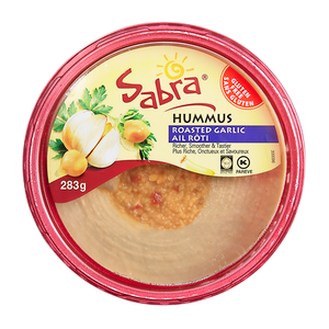 Hummus, Roasted Garlic (283g) - Sabra