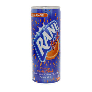 Orange Juice Float 240ml - Rani