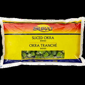 Okra, Cut (1 kg) - Suraj
