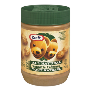 All Natural Peanut Butter, Smooth (750 g) - Kraft