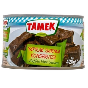 Stuffed Vine Leaves (Grape Leaves) 420g - Tamek