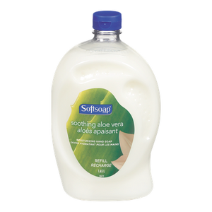 Liquid Hand Soap Refill, Soothing Aloe Vera (2.3 L) - Softsoap