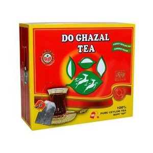 Ceylon Tea 100 Tea Bags - Do Ghazal