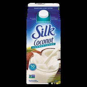 GMO Free Coconut Beverage, Unsweetened (1.89 L) - SILK