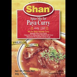 Spice Mix, Paya Curry (50 g) - Shan