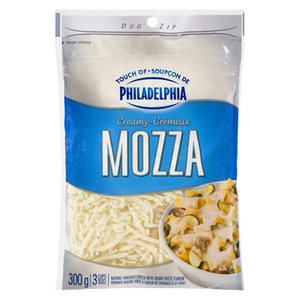 Shredded Cheese, Creamy Mozza (300 g) - Kraft