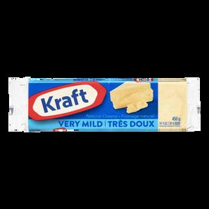 Cheddar Cheese, Very Mild (450 g) - Kraft