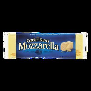 Cracker Barrel Cheese, Mozzarella (460 g) - Kraft