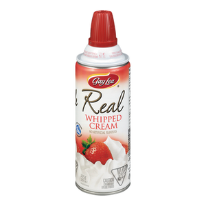 Real Whipped Cream, Regular (225 g) - Gay Lea