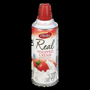 Real Whipped Cream, Regular (225 g) - Gay Lea