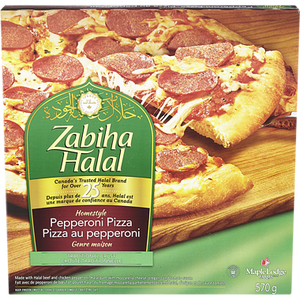 Homestyle Hawaiian Pizza (612 g)- Zabiha Halal