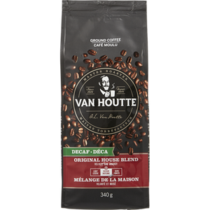 Ground Coffee, Original Decaf House Blend (340 g) - VAN HOUTTE
