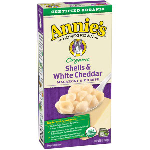 Homegrown Organic Shells & White Cheddar Mac & Cheese - Annie's