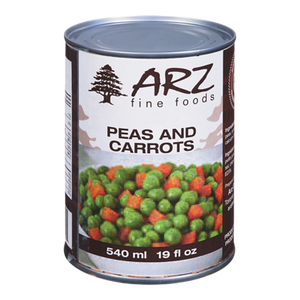 Green Peas & Carrots (540 mL) - Arz