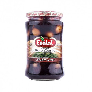 Garlic Pickled Brown (700gr) - Esalat