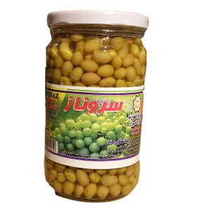 Unripened (Sour) Grapes in brine (Ghooreh) 700 gr  - Shayesteh