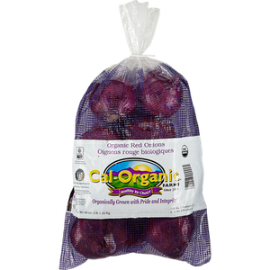 Organic Red Onion (3 lb bag)