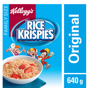 Rice Krispies Family Size (640 g) - KELLOGG'S