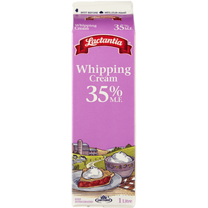 Whipping Cream, 35% (1 L) - LACTANTIA